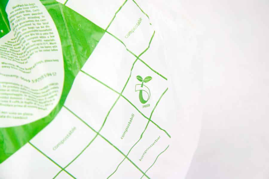 Composteerbare zak 10 liter rol