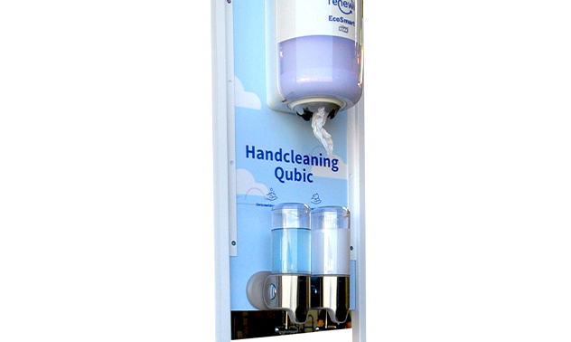 Handcleaning Qubic